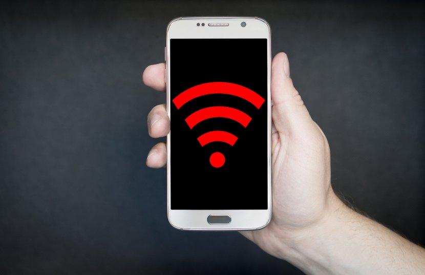 Telefon, Smartfon, WiFi, Internet