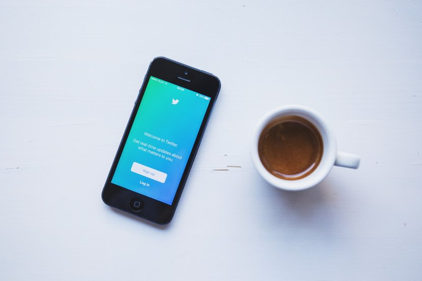 Twitter, Telefon; Smartfon, Tech