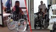 Prvi snimci iz banje: Darko Lazić u kolicima odveden na terapiju, a evo ko je sve vreme bio pored njega! (VIDEO)