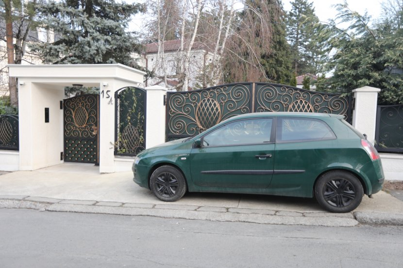 šaban šaulić, Šabanov auto