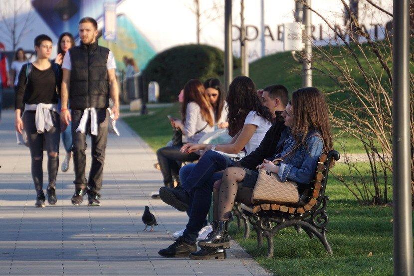 Lepo vreme je izmamilo beograđane na ulice grada
