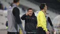 Trener Čuke besan kao ris: Sudija isključio Krunića, Partizan posle toga dao dva gola za 6 minuta (VIDEO)