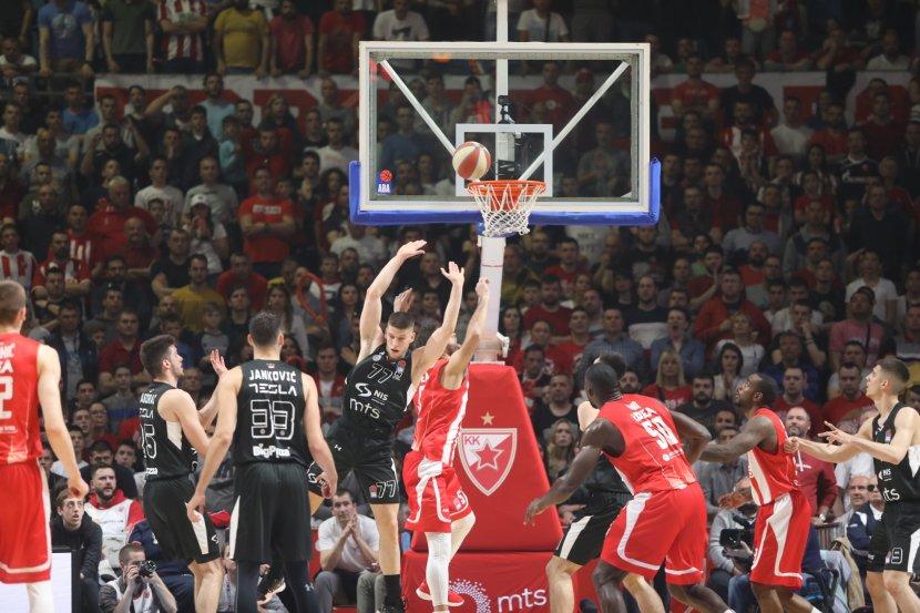 KK Crvena zvezda, KK Partizan, derbi, košarka