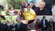 "Uz pesmu ""Podmoskovske večeri"" položena urna sa posmrtnim ostacima Mire Marković: Porodica nije prisustvovala sahrani (FOTO) (VIDEO)"