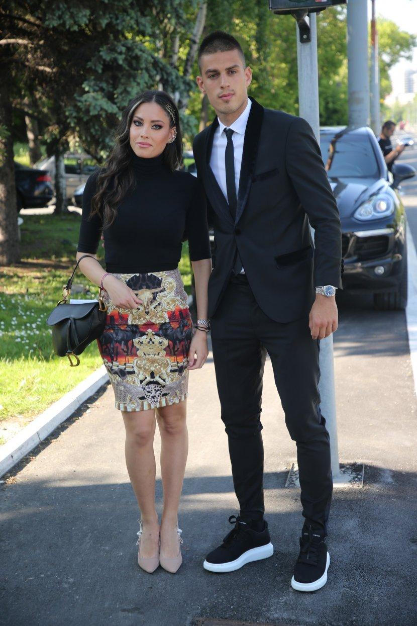 Danijela Karić i Ivan Mileusnić venčanje