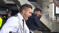 Ajaksova žurka na krovu stadiona: Tadić i Huntelar ''najluđi'', Srbin se skidao i bacao navijačima odelo (VIDEO)
