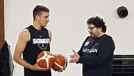 Bogdan na treningu Partizana hvata zalet za Svetsko prvenstvo: Pogledajte kako cepa mrežice! (FOTO) (VIDEO)