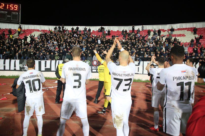 Polufinale kupa, FK Radnički - FK Partizan