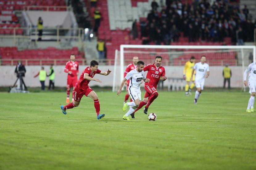 Polufinale kupa Vojvodina, FK Radnički - FK Partizan