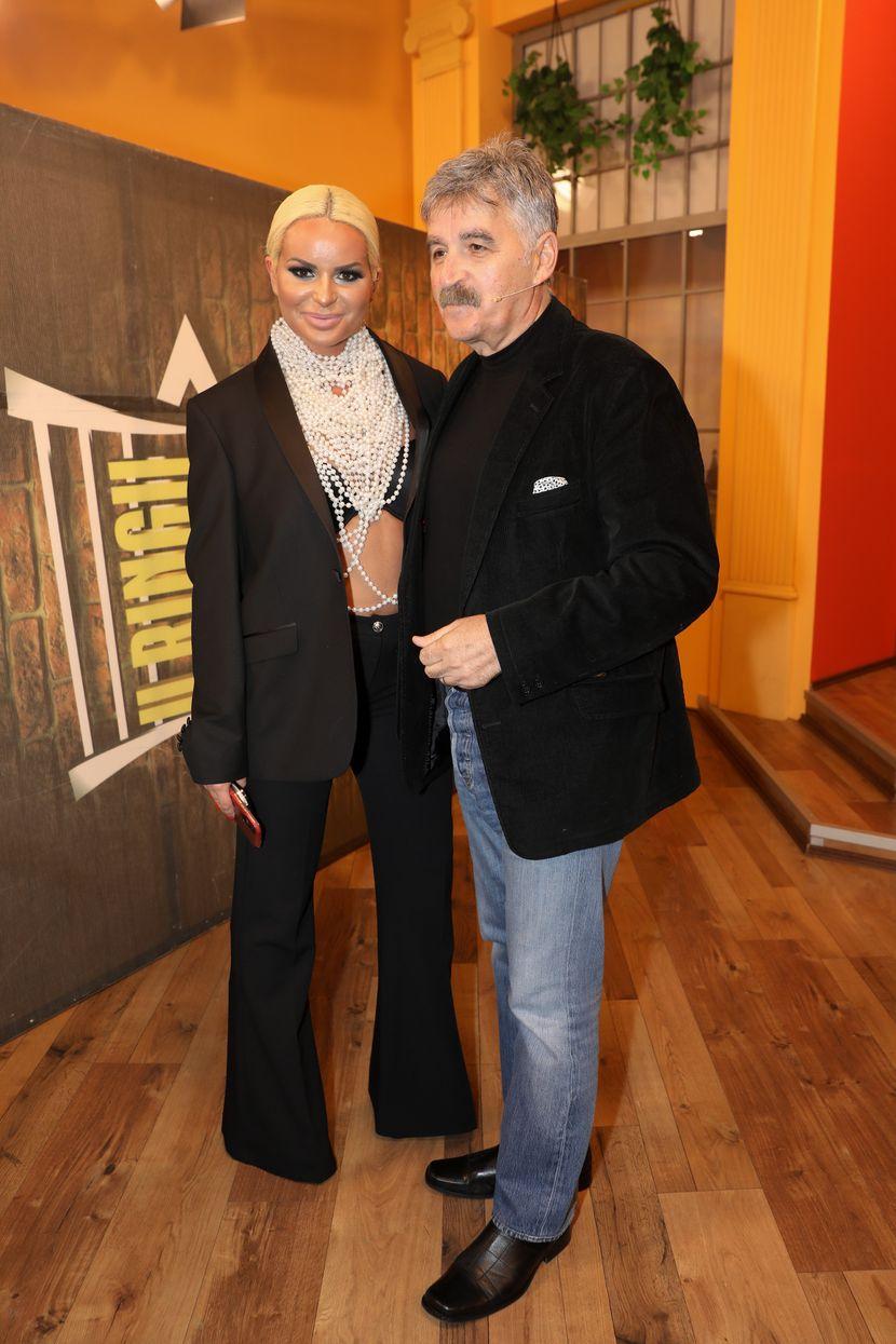 Dragan Stojković Bosanac i Aleksandra Džidža