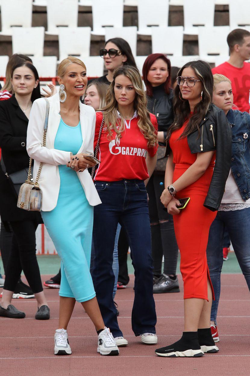 Snežana Borjan, Anđela Miladinović, Mirka Vasiljević