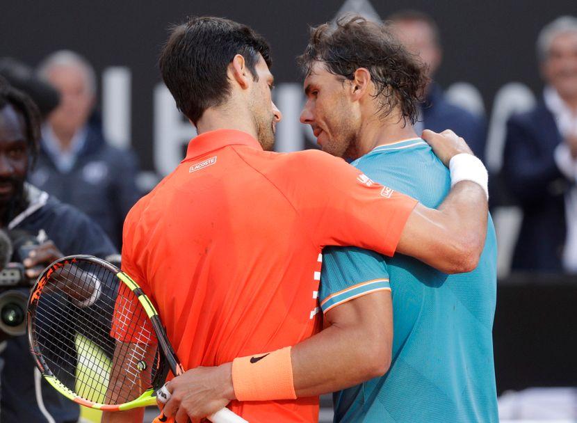 Novak Đoković, Rafael Nadal, ATP Rim