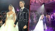 Prvi ples Dragane i Miloša: Mlada u raskošnoj venčanici kao princeza, sve izgleda kao romantična bajka! (VIDEO) (FOTO)