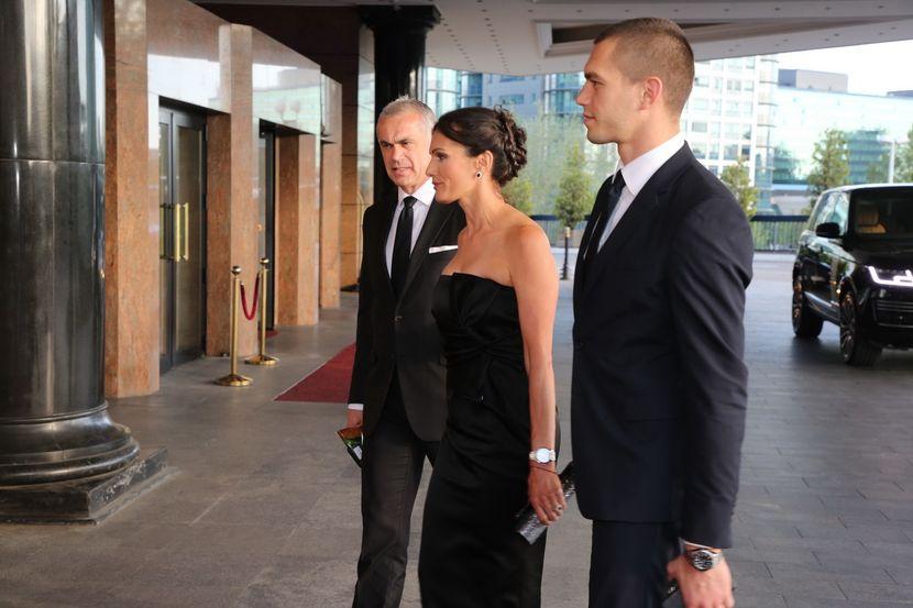Dragana Džajić, Miloš Ivanović, svadba