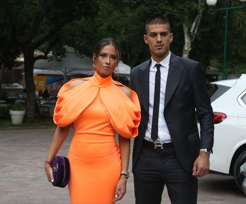 Anđela Miladinović, Filip Stojković, svadba, venčanje