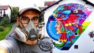 """Kažu im da """"šaraju"""", a oni sivilo pretvaraju u boju: Ovi umetnici žele od Beograda da naprave prestonicu murala (VIDEO)"""