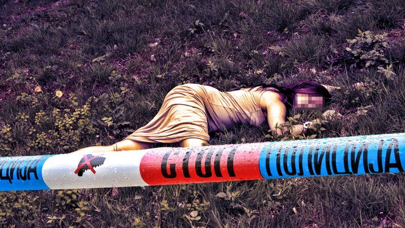 Mrtva devojcica, mrtvo dete, devojka, žena, mrtvo telo, mesto zločina, ubistvo