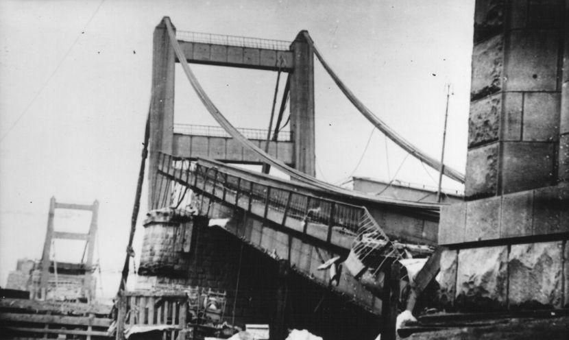 Most kralja Aleksandra, Aprilski rat, Stari Beograd, Drugi svetski rat