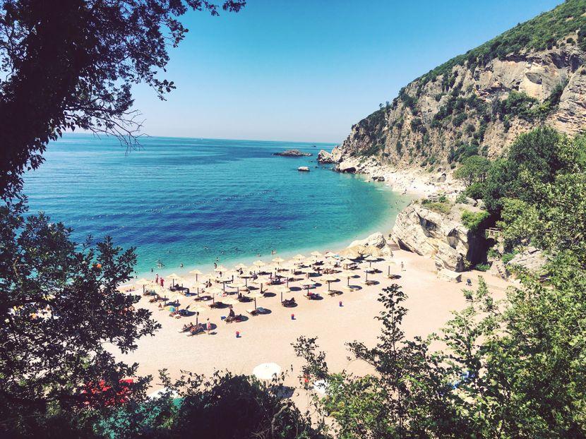 perazica do jadransko more crna gora