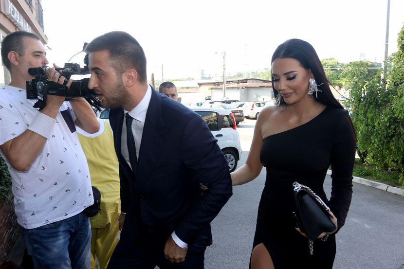 Tijana Stoisavljević i Miha Milutinović, svadba