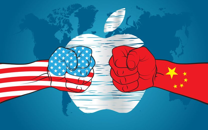 Kina, Amerika, Epl, Apple