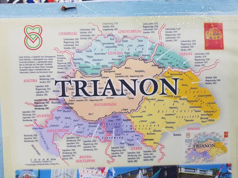 Mađarska, Trijanonski sporazum, Budimpešta, Trg heroja