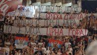Delije poslale moćnu poruku Crnogorcima zbog crkve i bakljom zadimile Pionir! (VIDEO)