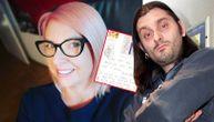 Supruga Dina Dvornika objavila razglednicu koju je davno dobila od njega i dirnula sve (FOTO)