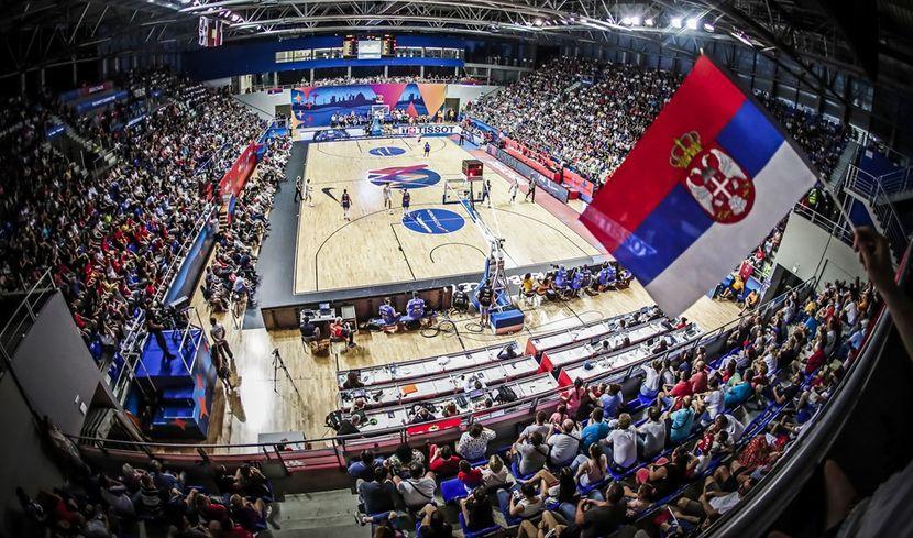 Zenska kosarkaska reprezentacija, Srbija - Belgija