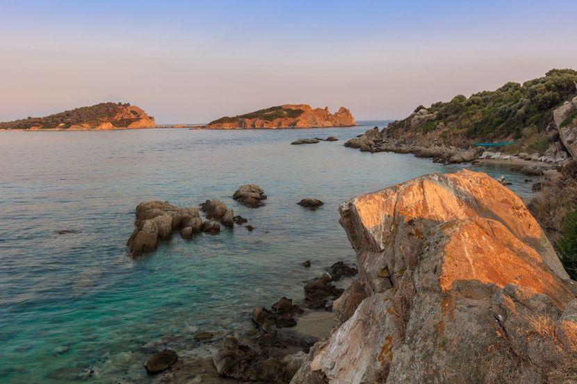 Ammouliani ostrvo Grčka