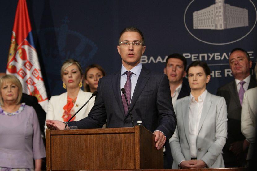 Nebojša Stefanović, ministar unutrašnjih poslova