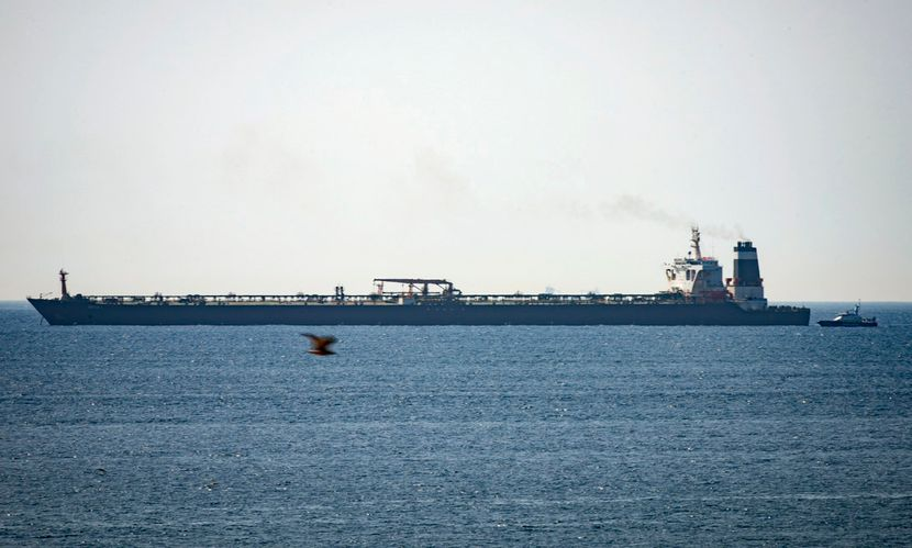 Gibraltar zaplenio tanker