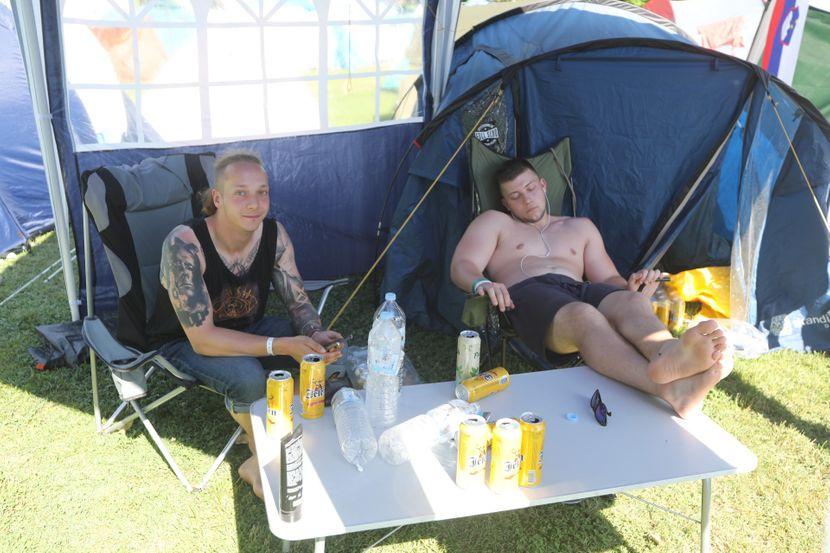 EXIT festival 2019, kamp