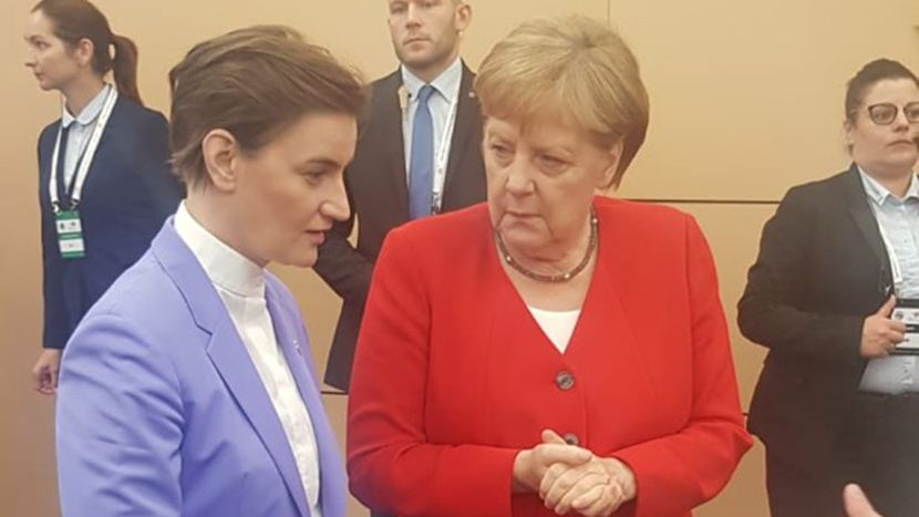 Ana Brnabić, Angela Merkel, Poznanj, Samit EU - Zapadni Balkan