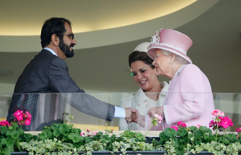 Princess Haya, Sheikh Mohammed Bin Rashid Al Maktoum, Dubai, Princeza Haja, šeik Muhamed, kraljica Elizabeta II