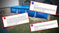 """Napadaju roditelje devojčice koja se utopila u bazenu u Pančevu: """"Čuj, zapričali se! Marš u zatvor!"""""""
