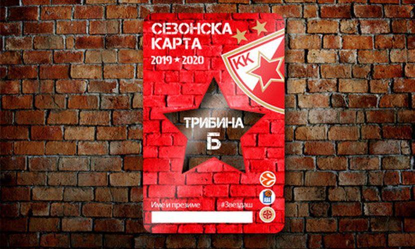 KK Crvena zvezda pretplatna karta