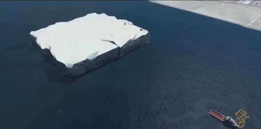 Santu leda dovoze u UAE