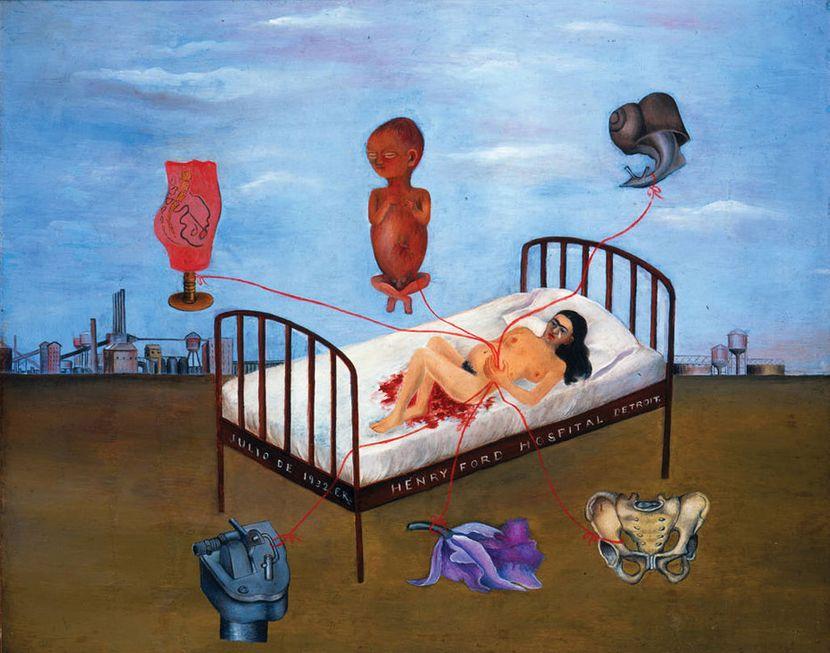 Frida Kalo - leteći krevet
