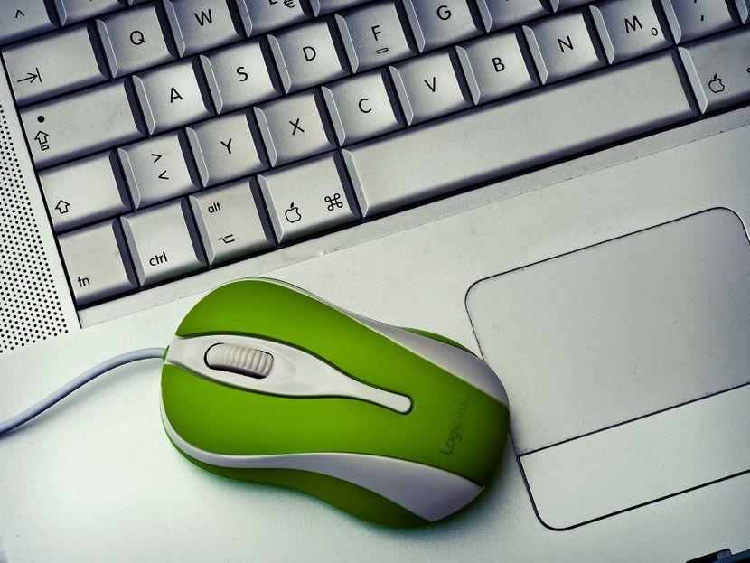 Laptop, Tastatura, Mis
