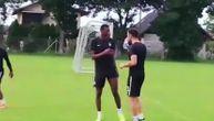Malo šale na treningu Partizana: Ostojić učio Sadika da ''pomiriše'' vodu (VIDEO)