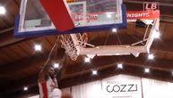 """Partizan dovodi """"zver"""" pod košem: Od njegovih zakucavanja trese se konstrukcija! (VIDEO)"""