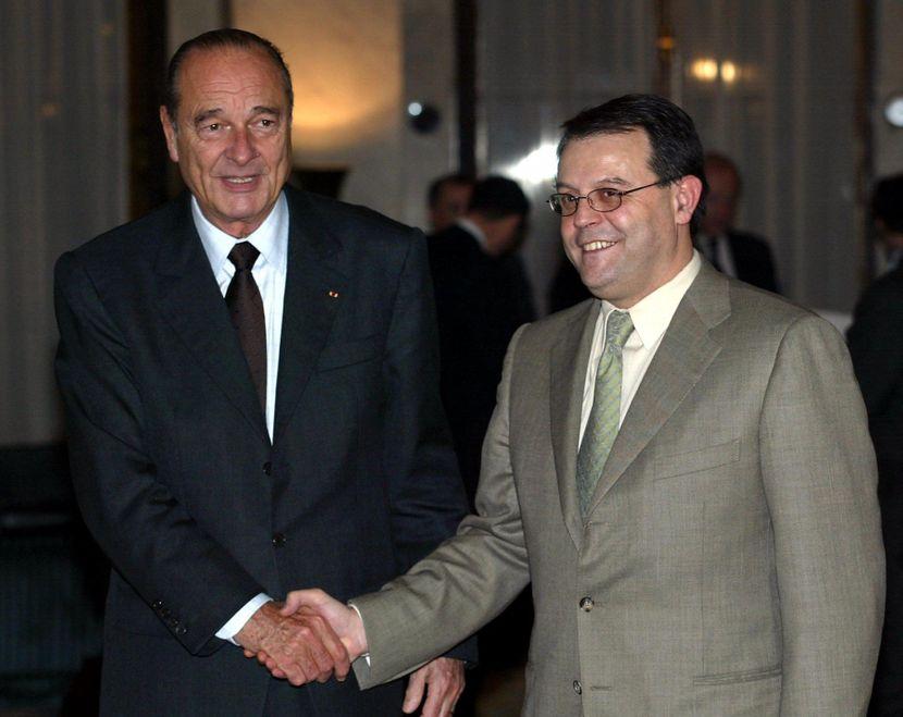 Jacques Chirac, Žak Širak, poseta Beogradu