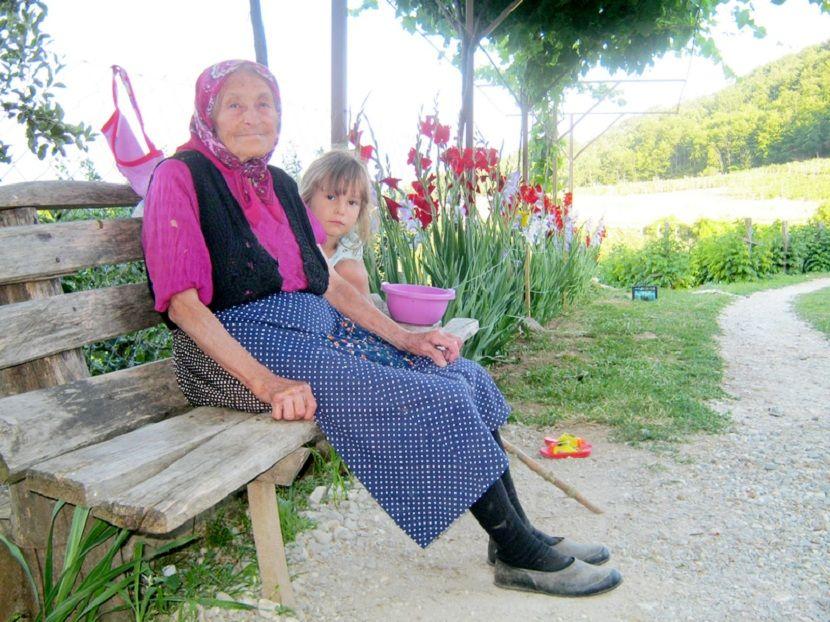 Ljubica Stanković, baka, 90 godina