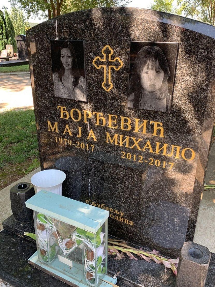 Maja Đorđević, ubistvo u Centru za socijalni rad, Rakovica, groblje, sin Mihajlo