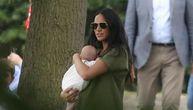 Megan prvi put sa Arčijem u javnosti, svi su je napali zbog toga kako je držala sina (FOTO)