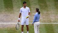 Pogledajte kako je izgledala drama na Vimbldonu zbog koje je prekinut Novakov meč (FOTO)