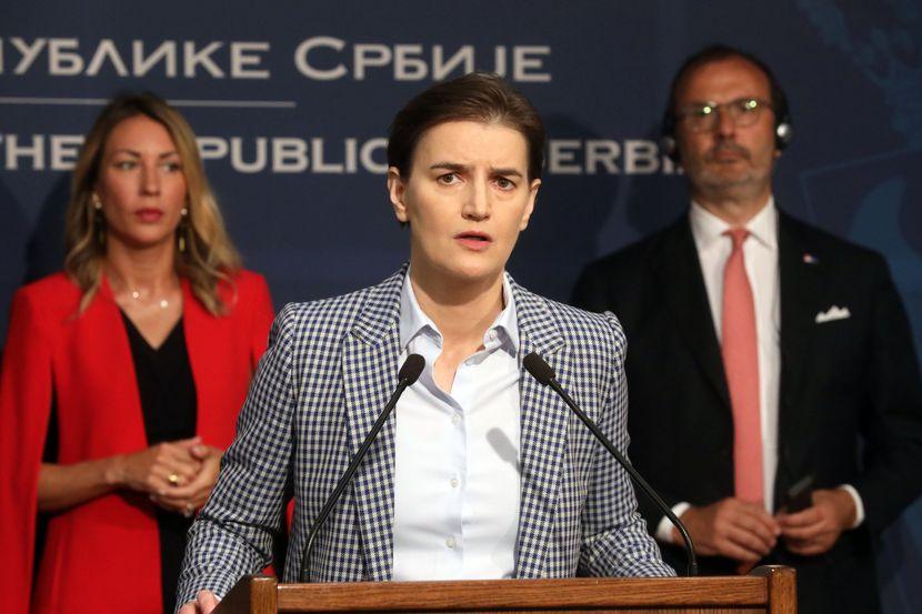 Ana Brnabić, Vlada, Potpisivanje Sporazuma sa EIB o unapređenju sistema za vodosnabdevanje