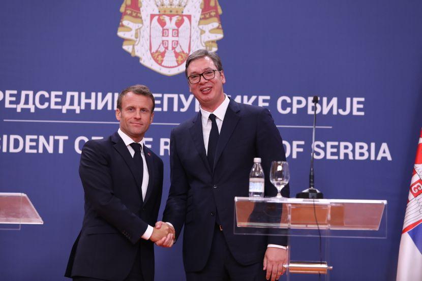 Emanuel Makron, Aleksandar Vučić