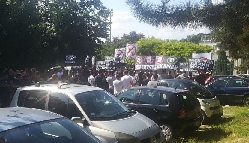 FK Partizan, Grobari, zemunelo